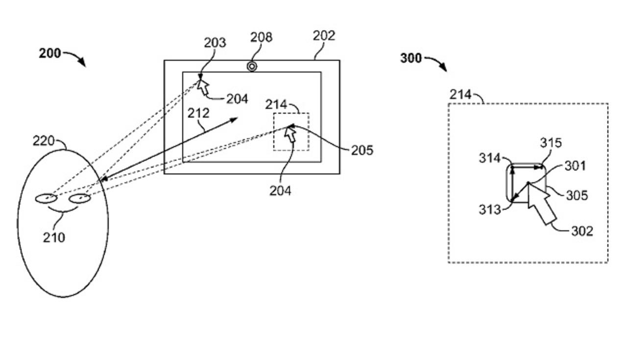iPhoneも操作できるアイトラッキング特許、アップルが取得