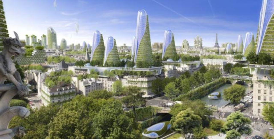 スマートシティ構想、未来のパリは緑にあふれる