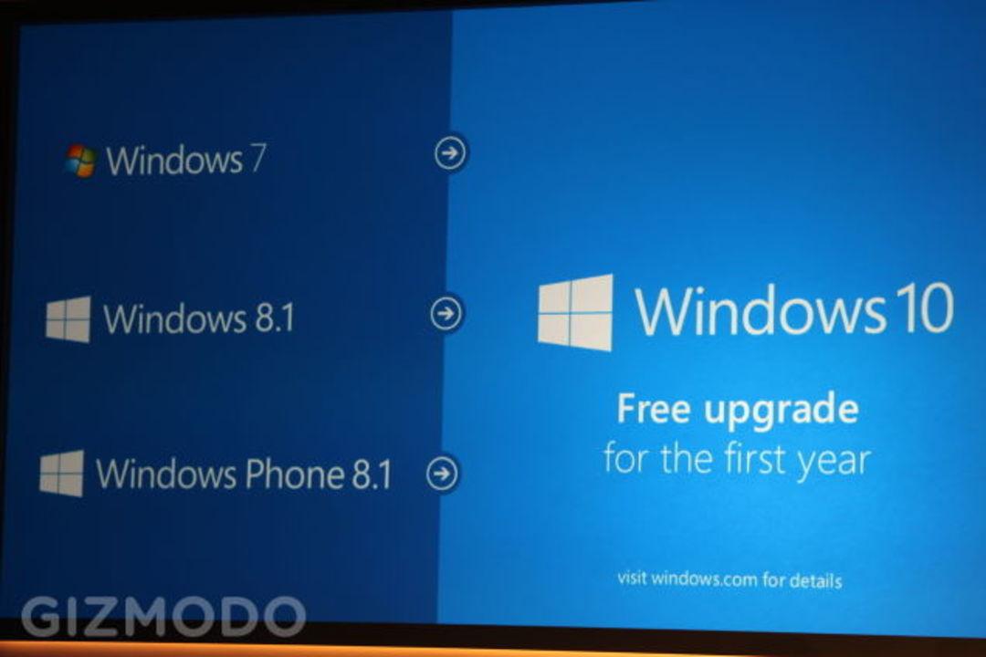 Windows 7/8から10へ無料でアップグレード可!