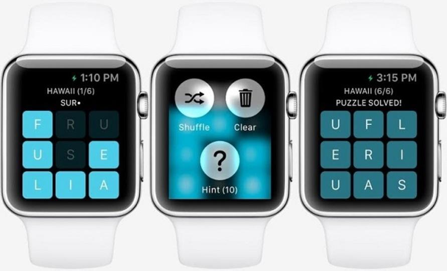 Apple Watch用ゲームのスクリーンショットが明らかに
