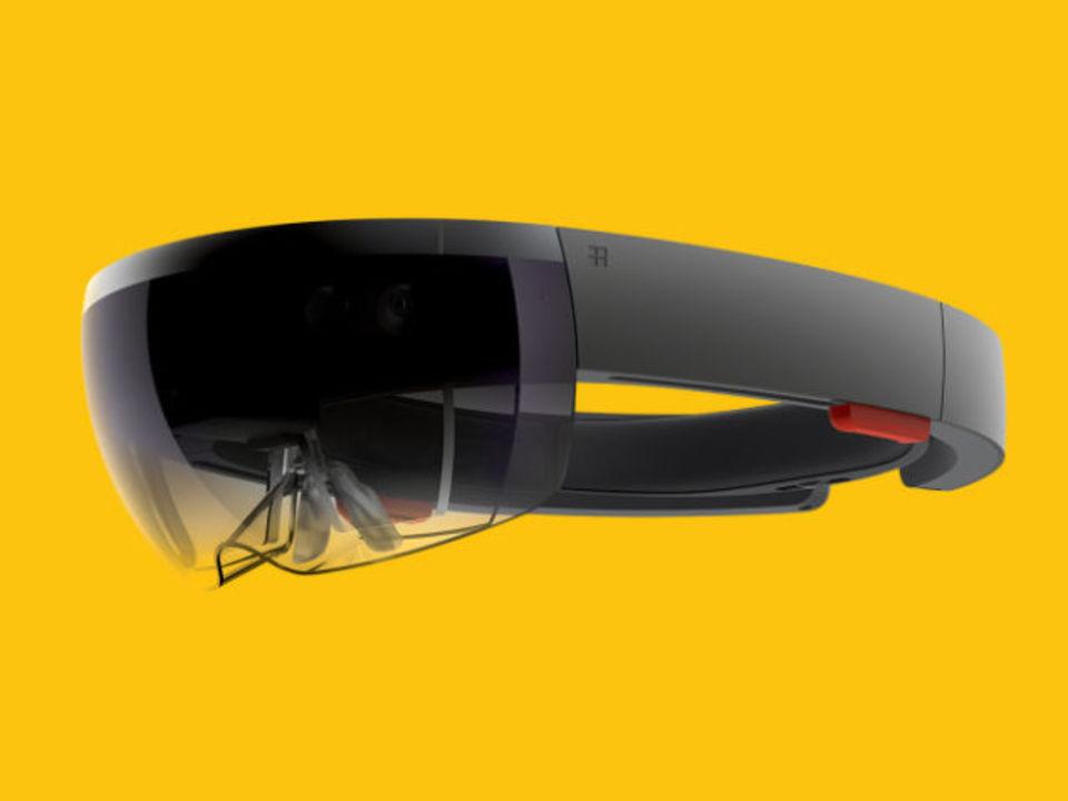 マイクロソフト、ホログラム型VRゴーグル「Hololens」を発表