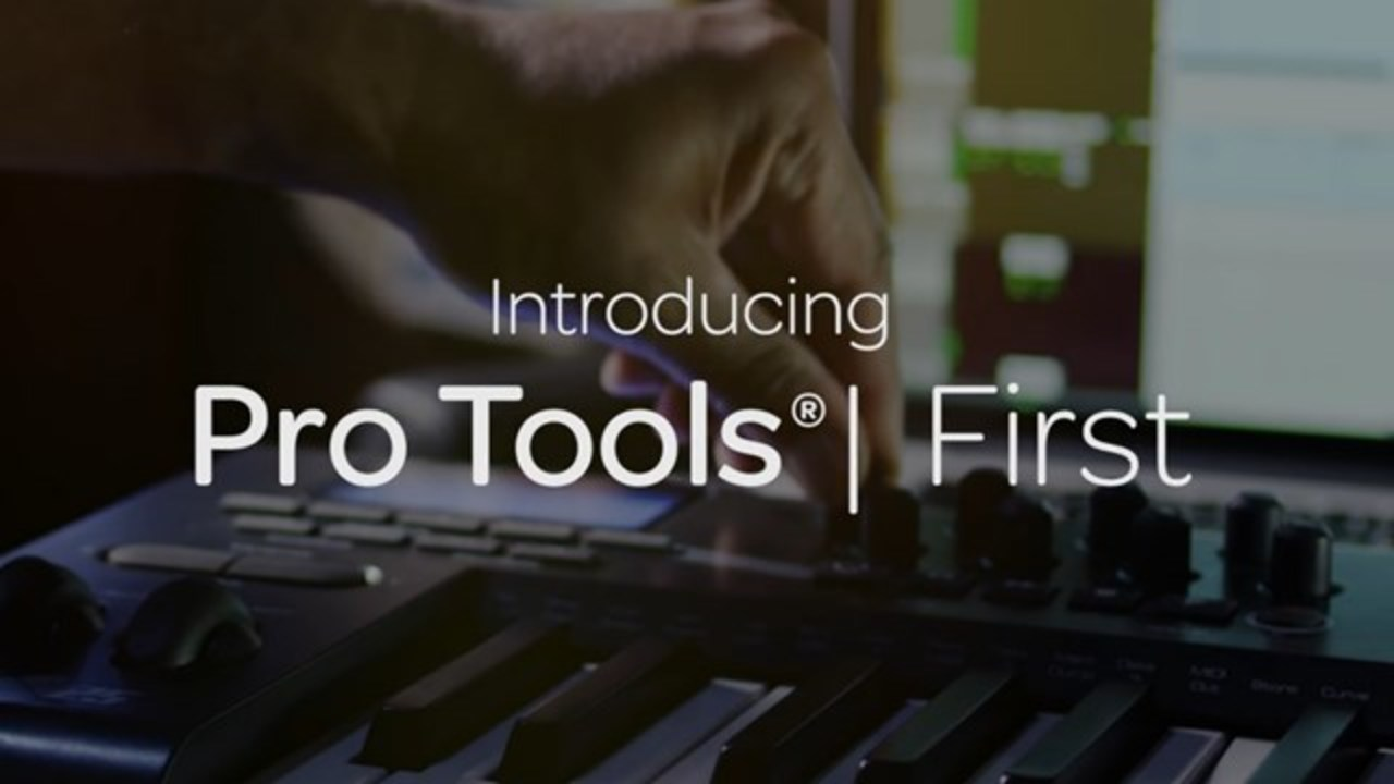 ついにプロ向けDTMソフトも無料化「Pro Tools | First」