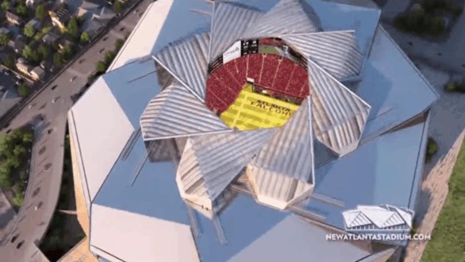 1400億円プロジェクト! アトランタ・ファルコンの新スタジアム