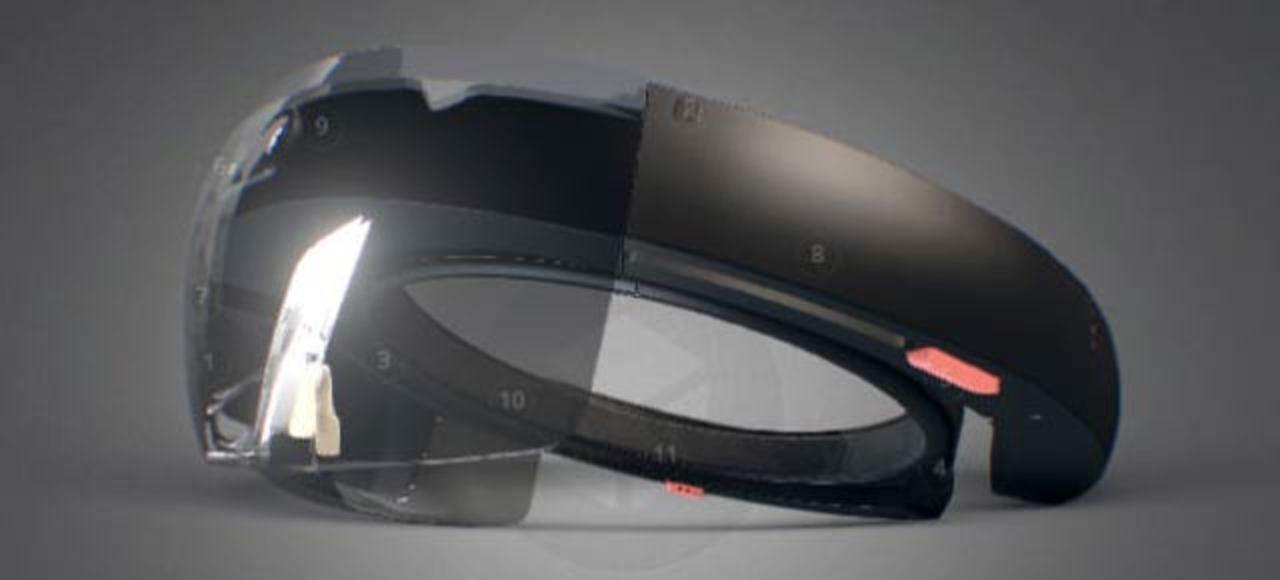 3Dモデルで見るマイクロソフト「Hololens」