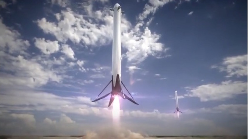 SpaceXの未来予想図がカッコよすぎる!