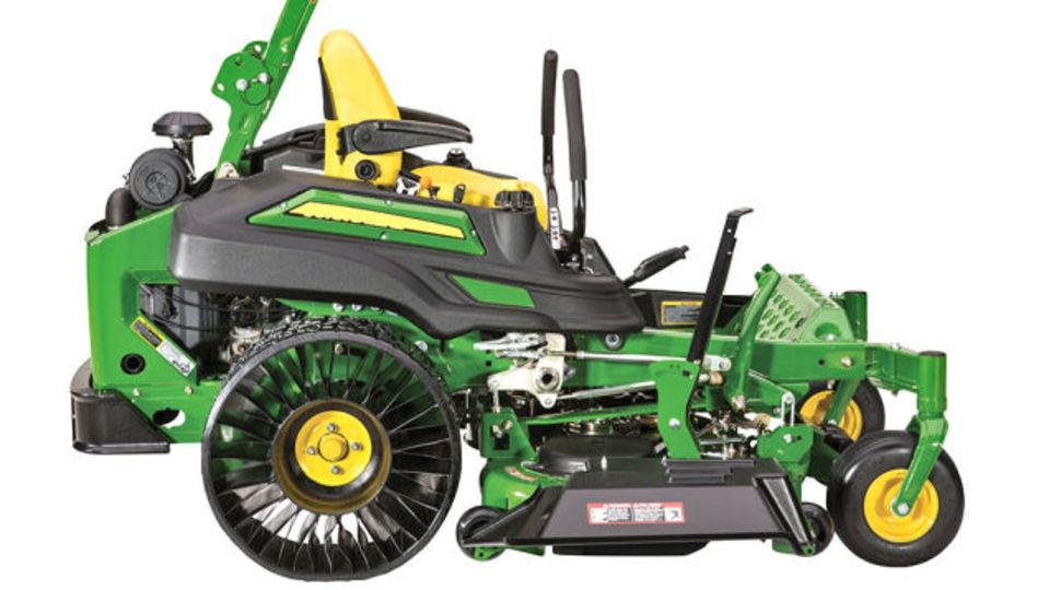 ノーモア・パンクな「エアなしタイヤ」を採用したのは芝刈り機!?