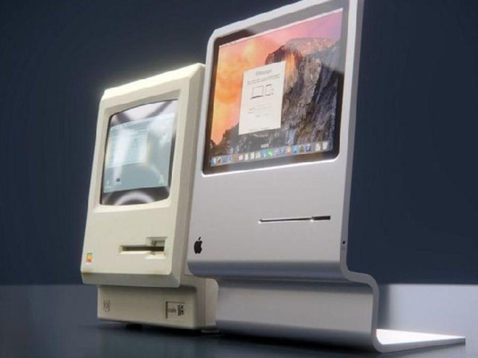 初代Macintoshを現代風にアレンジしたら?