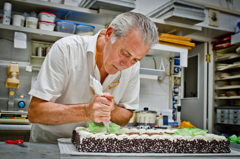 ケーキ職人の技がすごすぎる