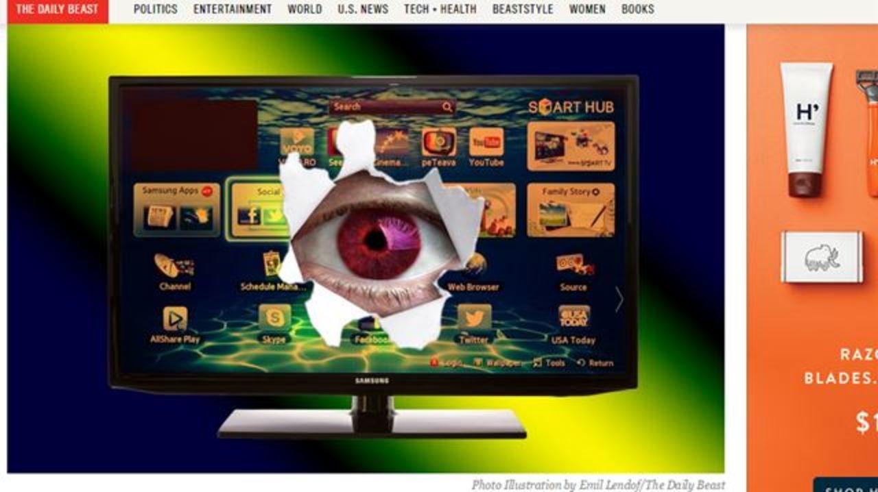 「サムスンTVは会話を盗聴している」と大騒ぎ。サムスン反論