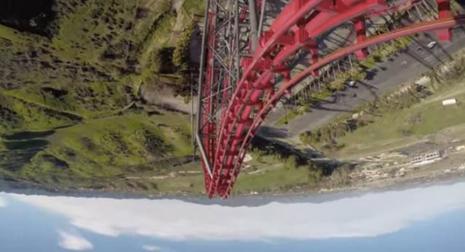 ジェットコースターに乗るのも、その鮮明なGoPro映像を見るのも嫌