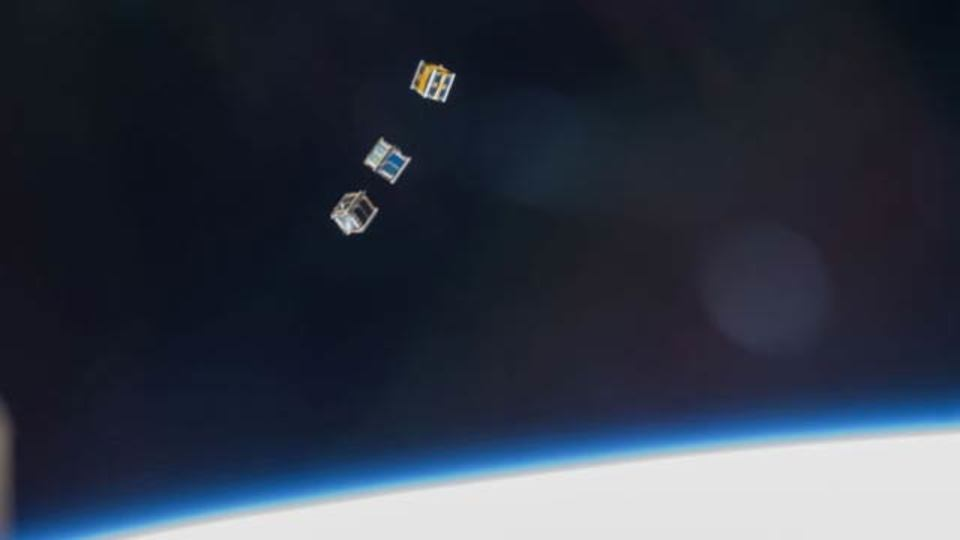 ミニミニ衛星がGPSを使って天気予報