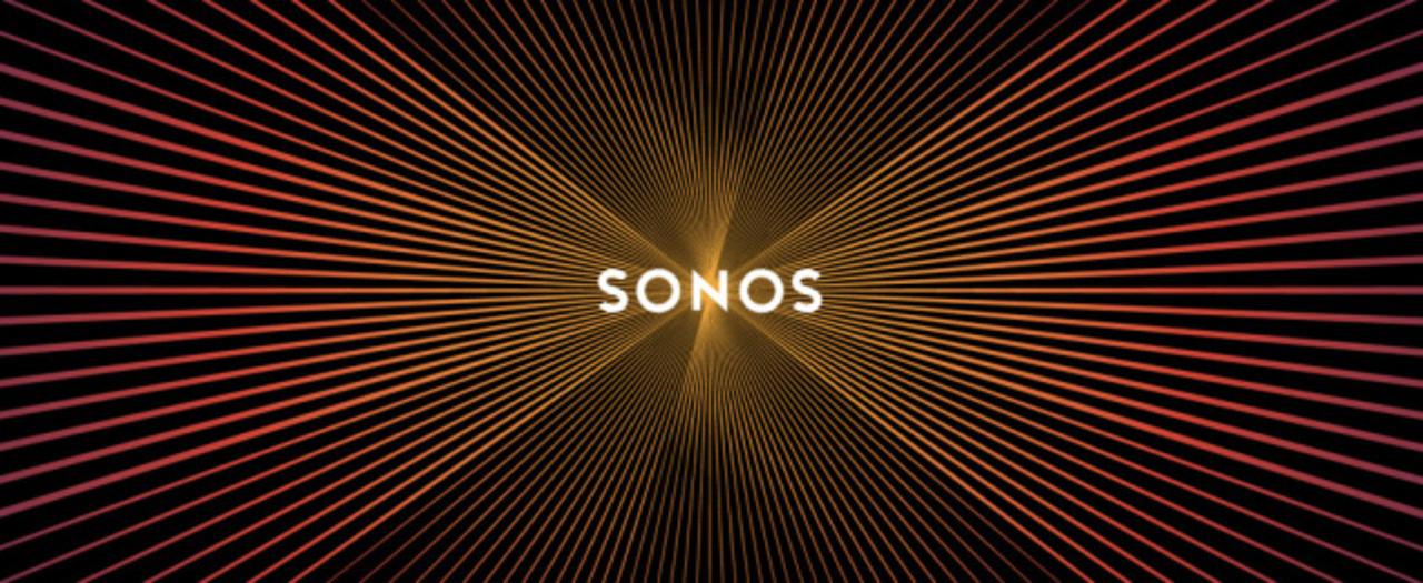 画面スクロールで 「音が見える」SONOSの新ロゴ