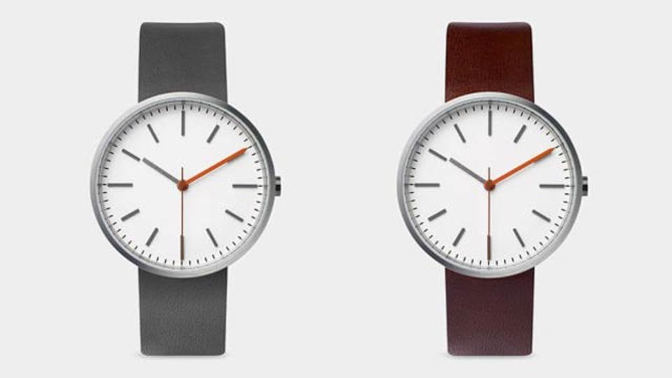 バウハウスにデザインのヒントを得た、本当に「スマート」な時計