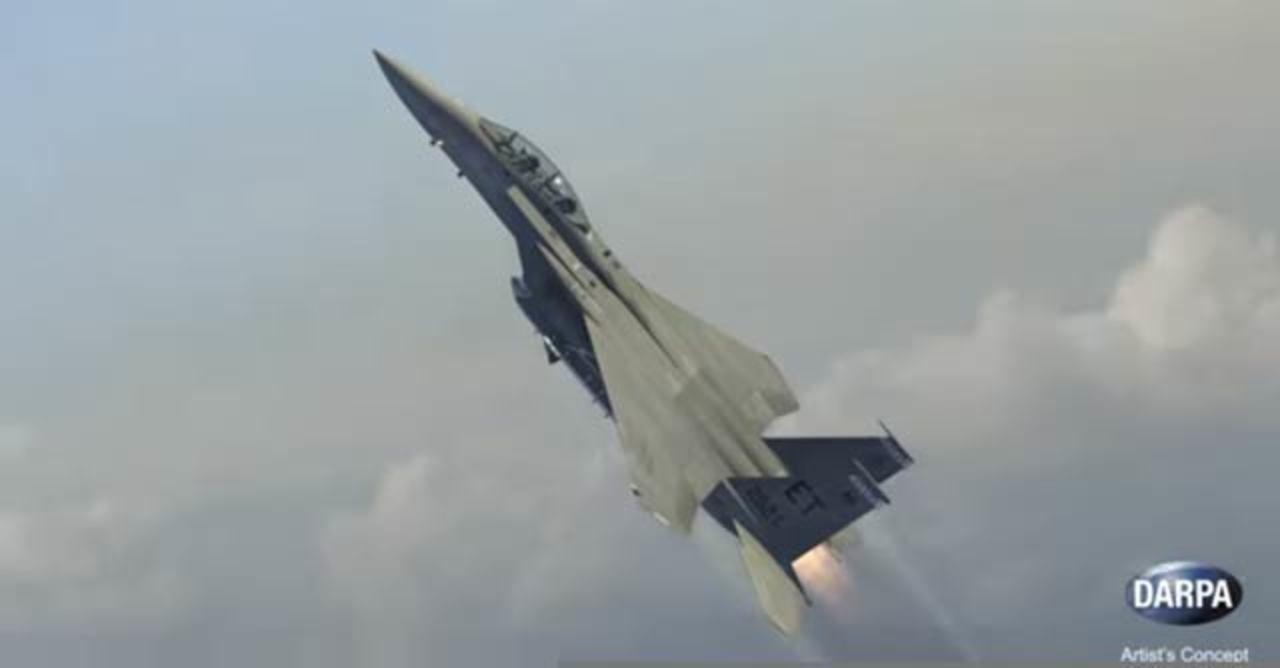 米国防総省のジェット戦闘機でロケットを打ち上げ計画