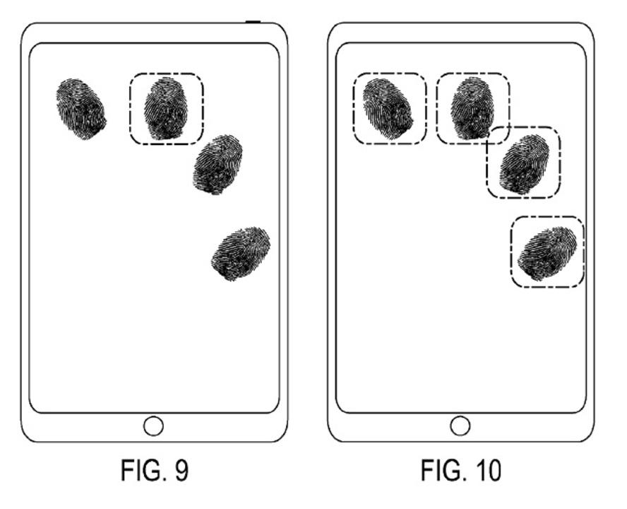 画面タッチで指紋認証ができる特許、アップルが取得