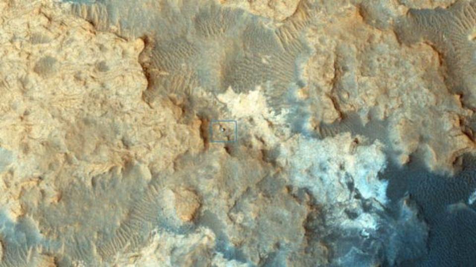 キュリオシティ、君は火星のどこにいる?