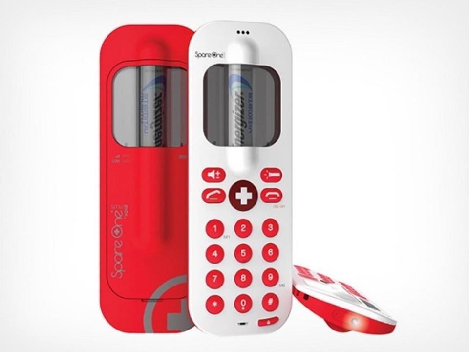 もう通話はこれでいいんじゃ…乾電池1本で動く携帯電話