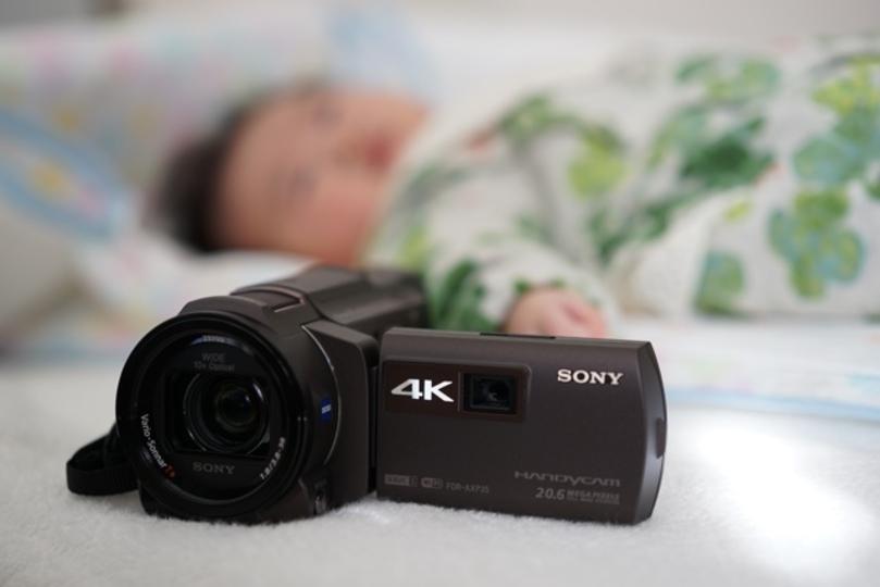 いまを一番きれいに「4K」で撮っておく。未来のわが子のために