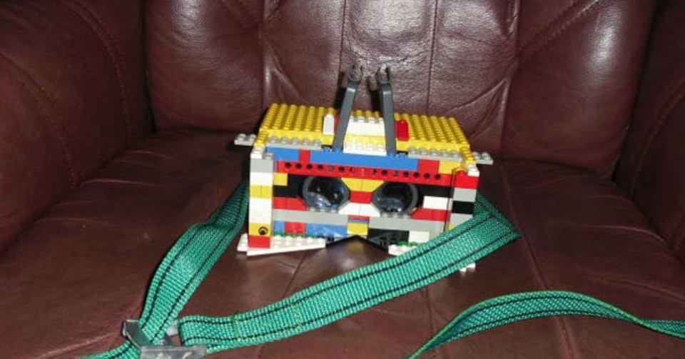 レゴでも作れるVRゴーグル