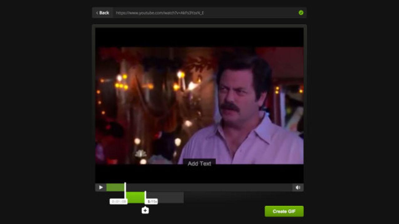 ネット動画からアニメGIFを速攻で作れるWebアプリ「Imgur」
