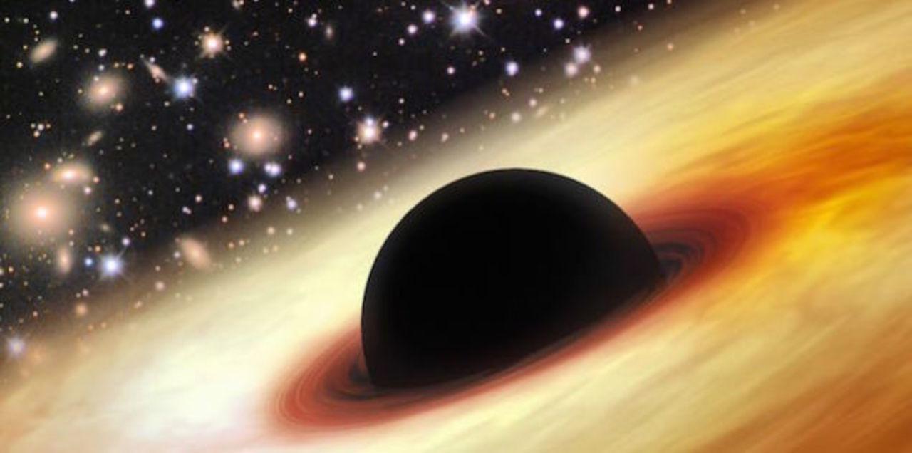 太陽120億個分のあり得ないほど若いブラックホールが見つかる