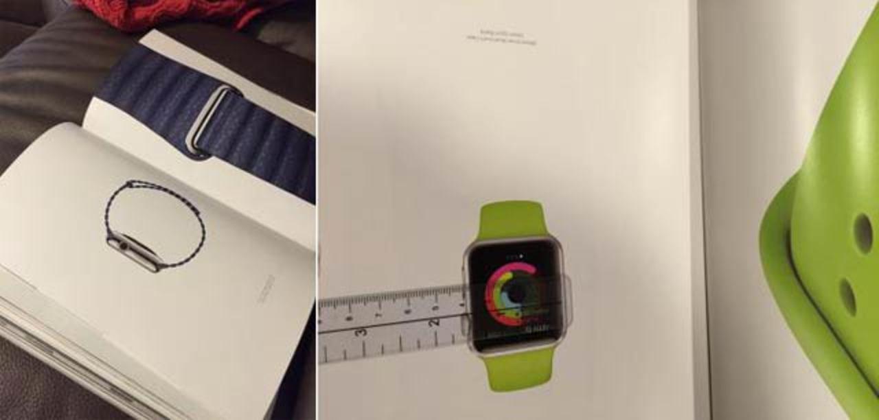米VOGUEにApple Watchの原寸大写真、デジタル版では動画広告も