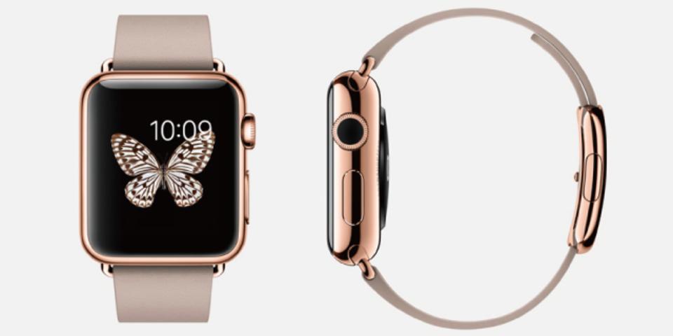 富裕層向け?Apple Watchゴールドモデルは約50万円もするらしい