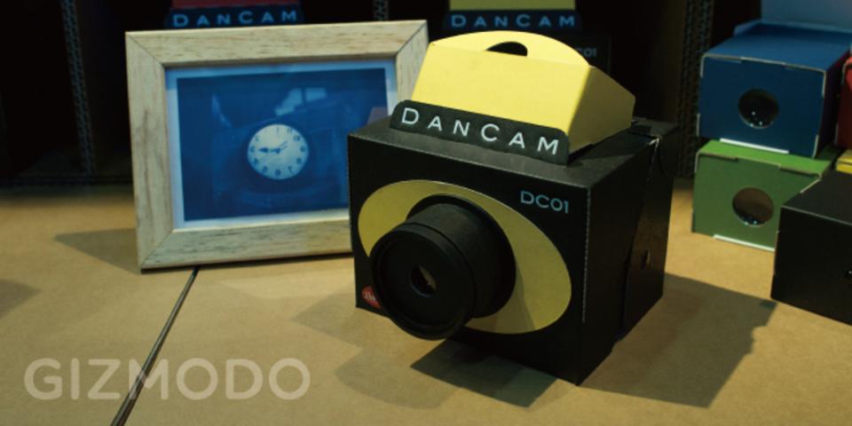 ダンボール製の一眼レフ「DANCAM」は日本のモノづくりスピリットの結晶