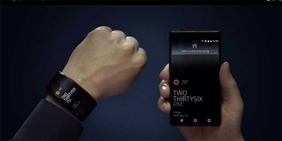 スマートウォッチにスマホ型ディスプレイが付いてくる逆転の発想の「Neptune Duo」