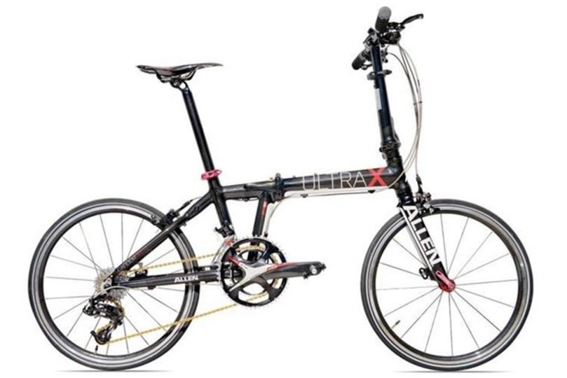 20インチ20速の折りたたみ自転車で重さ、たったの8.5kg