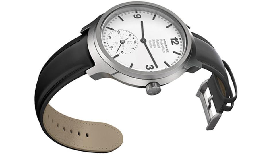 流石スイス。スマートウォッチでも時計の本質を忘れない!