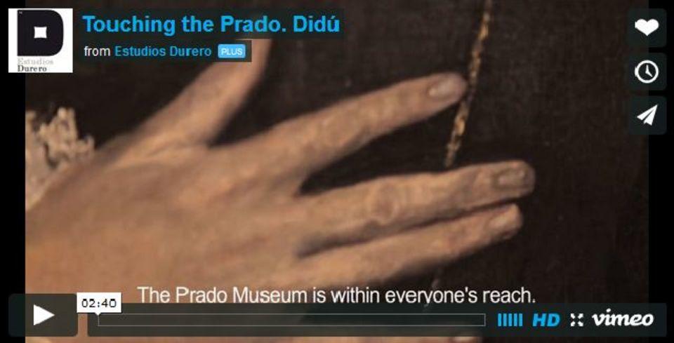 触って「見る」アート。Touch The Prado