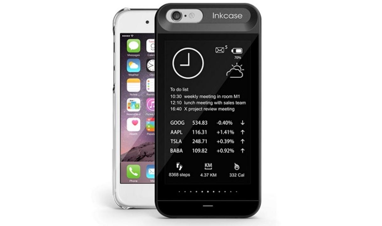 これは革命だ。iPhone背面に電子ペーパーを追加するケース