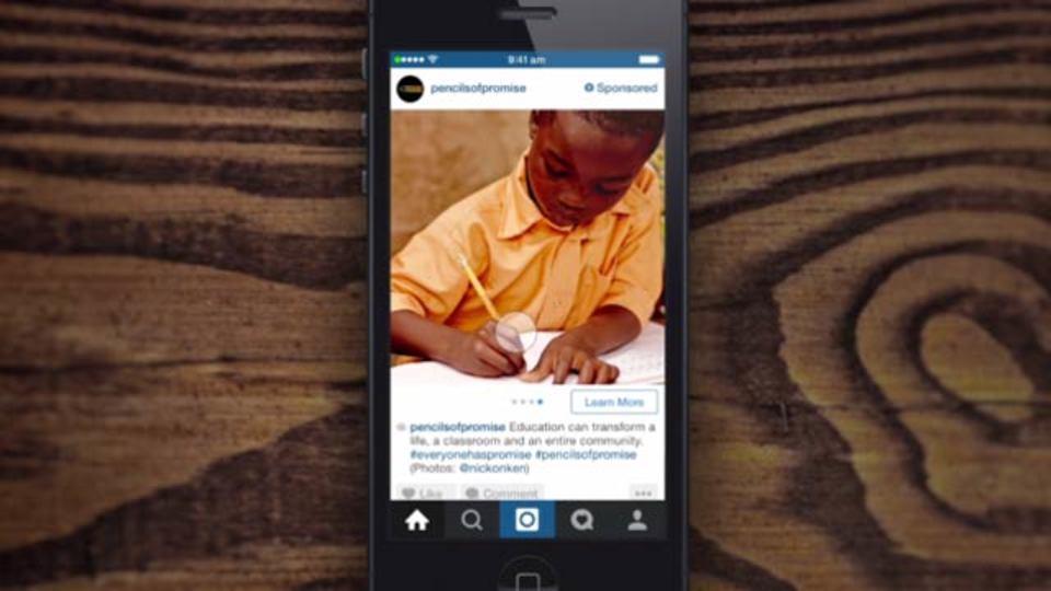 Instagramに広告主オンリーの新機能、1ポストに複数写真OK