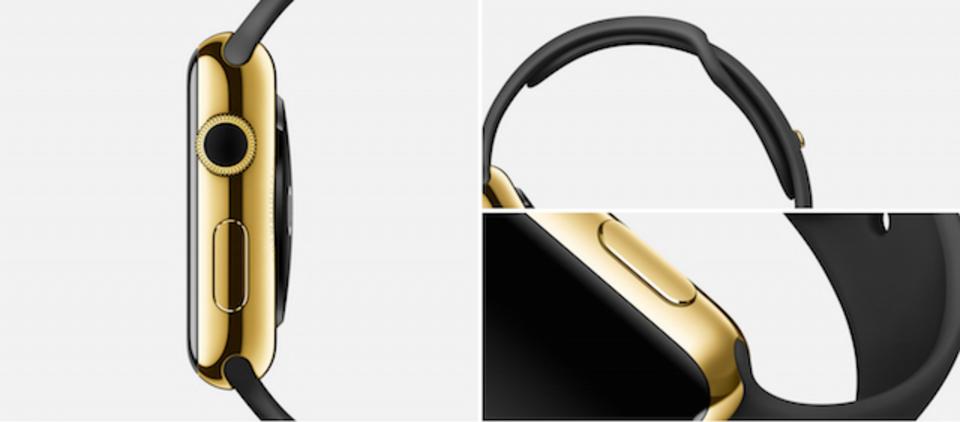 アップルの驚くべき特許。Apple Watchのゴールドは普通の金より硬く丈夫