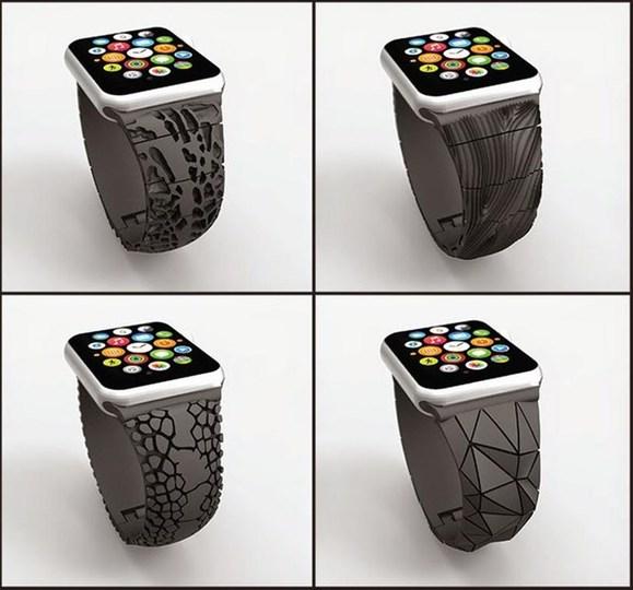 Apple Watchのサードパーティバンドで3Dプリンタが活躍するかも