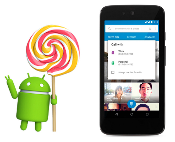 アップル新製品発表の裏で、Android 5.1が発表されていた