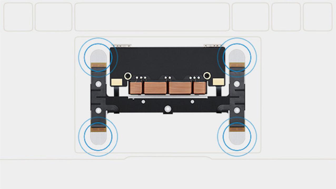 新センサー搭載のトラックパッドで、より直感的にMacBookを操作 #AppleLive