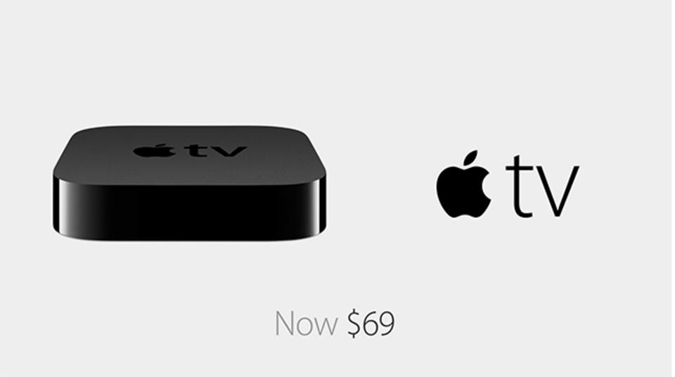 Apple TVがさらにお安く。69ドルになります #AppleLive(追記あり)