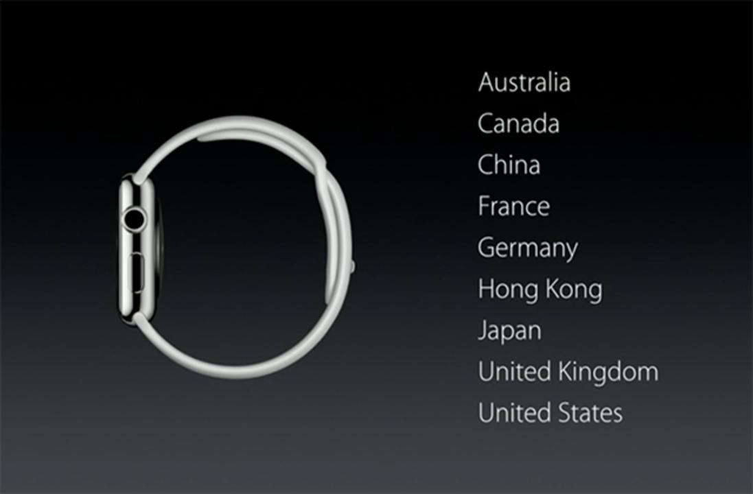 Apple Watchの発売は4月24日。日本も発売されるよ #AppleLive