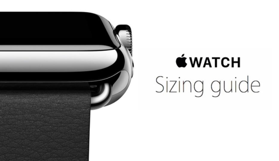 購入予定の方は確認必須! Apple WatchのバンドサイズがわかるPDF