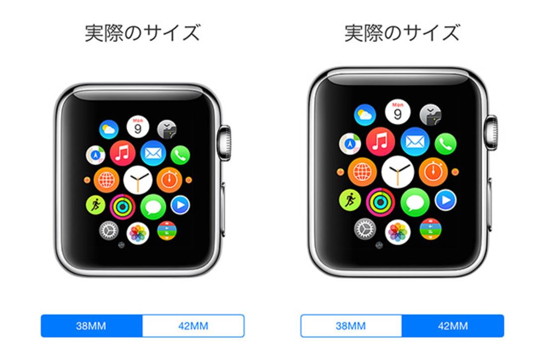 iPhoneを腕に当てて、Apple Watchのサイズを確認しよう