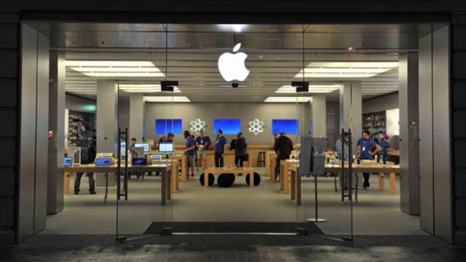 ショッピングモールにおけるアップルストアの影響力、売上げ10%アップも