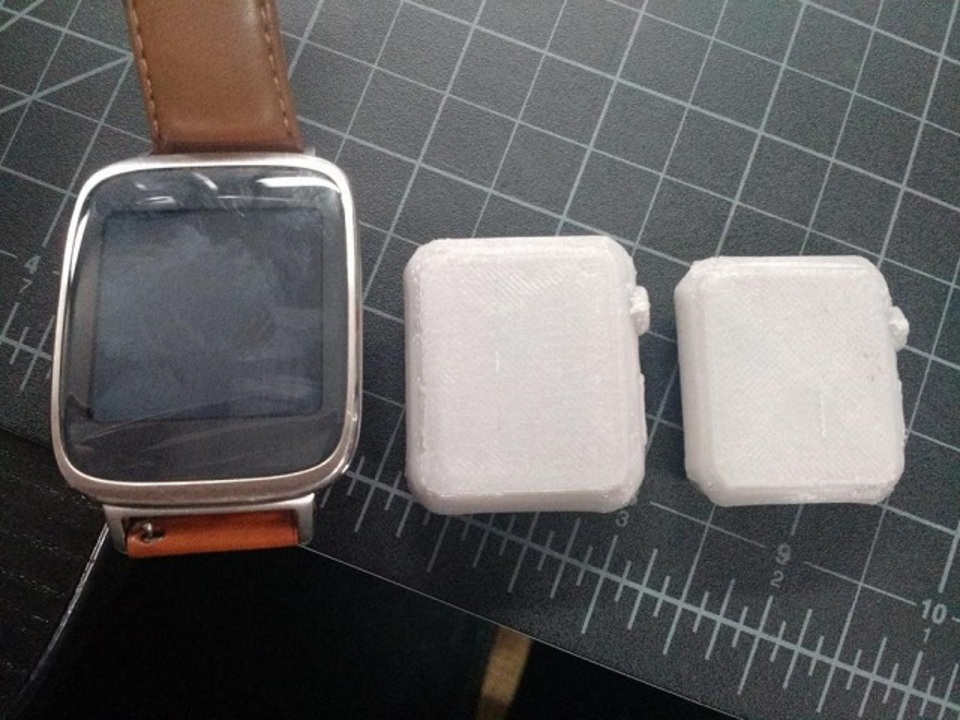 あら、Appel Watchってけっこうコンパクトなのね