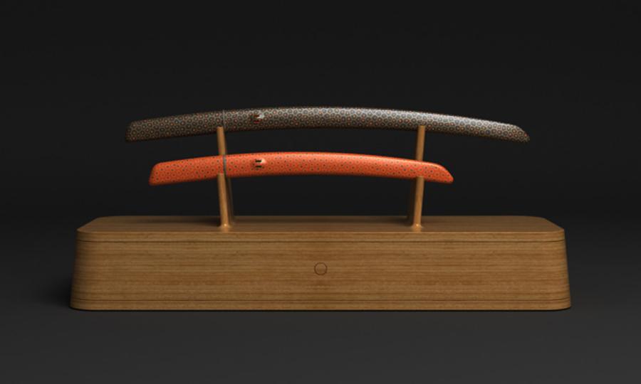 あのマーク・ニューソンが日本刀をデザイン
