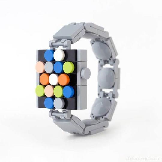 Apple Watchはレゴで自作できます