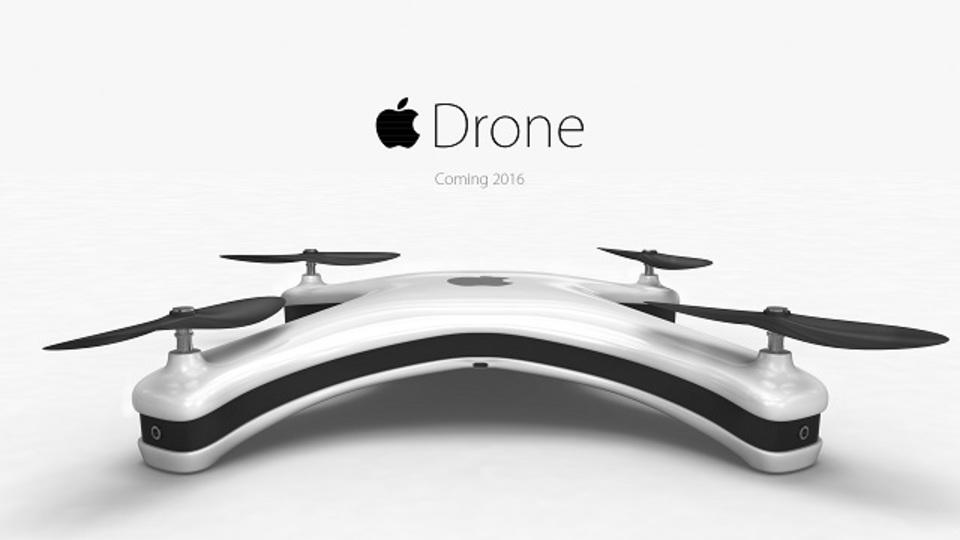 アップル製ドローン、これくらい未来っぽい?