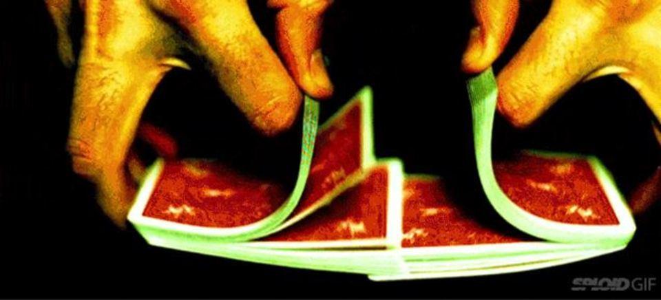 数学的に一番早いトランプの切り方と回数