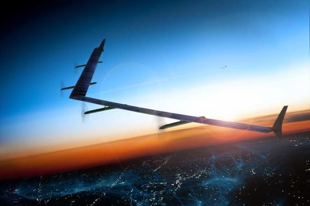 Facebook、旅客機よりデカい巨大ドローンのテスト飛行に成功