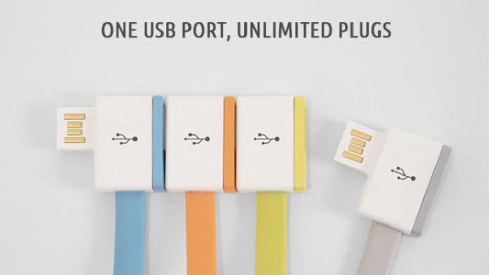 USBにUSBをUSBで無限につなげるケーブル